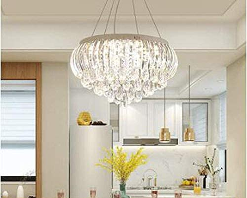 Chandeliers LED 3 Brightness K9 Crystal Ceiling Light Chandelier Pendant Light Bedroom Dining Room Ceiling Light