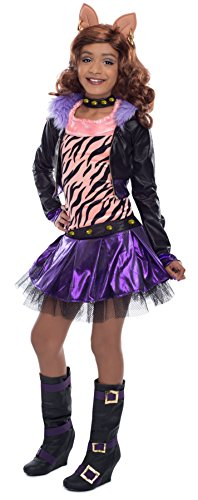 Monster High Clawdeen Wolf Costume (Monsters High Costumes)