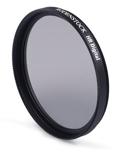 Rodenstock 405540 55mm Slim Circular Polarizer Brass Mount Super Multi-coated Black Label Filter (Black/Transparent) by Rodenstock
