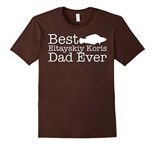 [Men's Eltayskiy Koris T-shirt Best Eltayskiy Koris Dad Ever T-shir Medium Brown] (T-shir Fish)