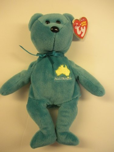 TY Beanie Baby - DOWN UNDER the Australia Bear (Asia-Pacific Exclusive) (8.5 inch)