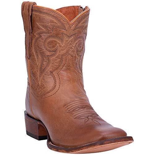 Dan Post Womens Bay Apache Cowboy Boots Leather Broad Square Toe 7.5 M