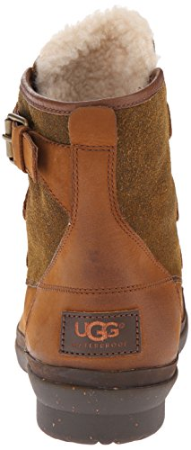 Ugg Leather Cecile Boots Chestnut Australia Womens 0YPrqp0O4