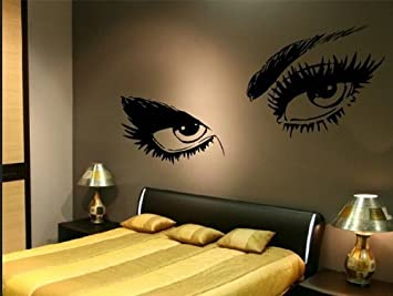 Huhushop 23.6u0026quot; X 49.2u0026quot; Audrey Hepburn Beautiful Eyes Removable Wall  Art Decal Sticker Decor