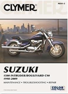 amazon com clymer repair manual for suzuki vs700 vs750 vs800 85 07 rh amazon com 1989 Suzuki Intruder 750 Bobber 1986 suzuki intruder 750 manual