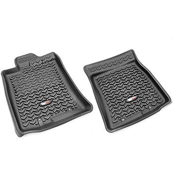Rugged Ridge All Terrain 82904.30 Black Front Row Floor Liner For Select  Toyota FJ Cruiser Models