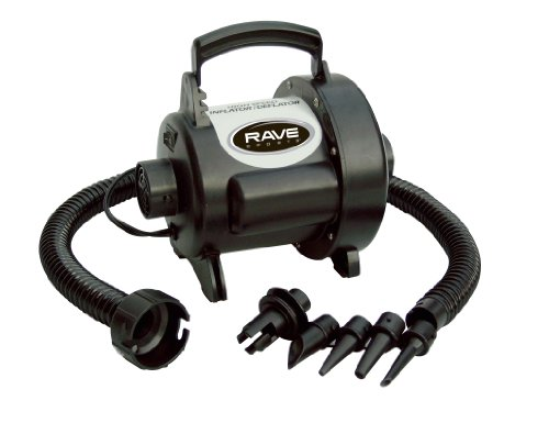 RAVE Sports 3 psi High Speed Inflator/Deflator Water Sports Pump