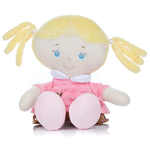 Stuffed Plush Baby Doll Samantha, 12 inches