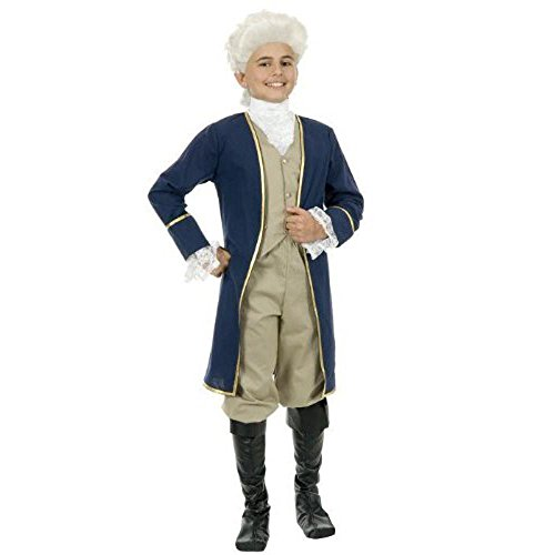 George Washington Costume Youth (Childs Deluxe George Washington Costume Size: Youth Small 6-)