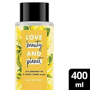Love Beauty And Planet Shampoo Coconut Oil & Ylang Ylang 400 mL