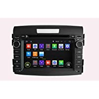 KUNFINE Android 6.0 Otca Core Car DVD GPS Navigation Multimedia Player Car Stereo For Honda CRV 2012 2013 2014 Steering Wheel Control 3G Wifi Bluetooth Free Map Update 7 Inch