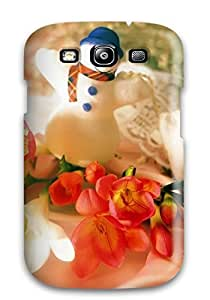 KwNOhQz1173Dgngd Snap On Case Cover Skin For Galaxy S3(christmas Holiday Christmas)