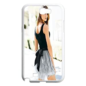 Samsung Galaxy N2 7100 Cell Phone Case White Rosie Huntington Whiteley 3 M2L4TI