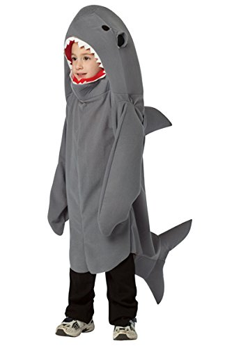 Shark Child Costume Size Small 4-6X