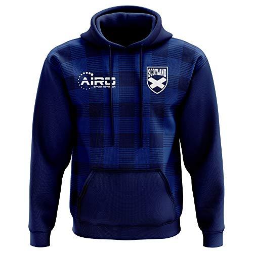Airo Sportswear 2018-2019 Scotland Tartan Concept Football Hoody (Mens Hoodie Scotland)