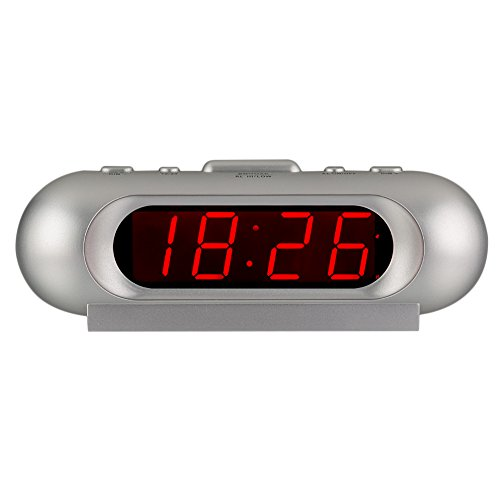 Non Sleeper - Kwanwa Small Cordless 110 db Extra Loud Alarm Clock For Heavy Sleepers With 0.9