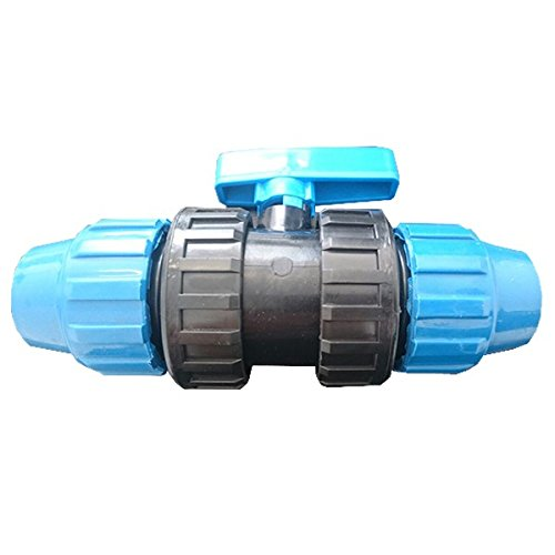 25mm Enlace de polietileno V/álvula PVC fitting