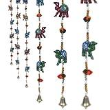 Pindia 'Camel' Handcraft Rajasthani Paper Mache Door hanging (Set of 2)