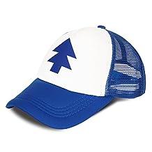 CG Costume Unisex Dipper Pines Hat Tree Cap Baseball Hat Cosplay