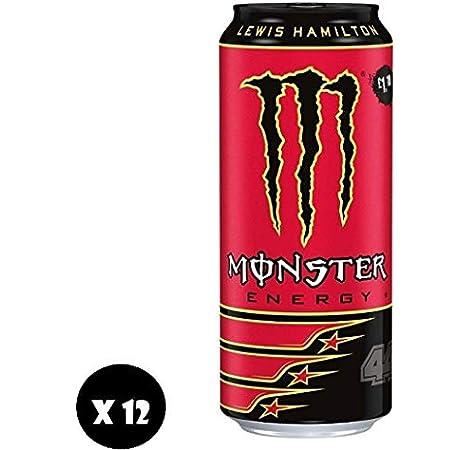 Monster Energy Lewis Hamilton 44 500ml PMP 1,19 (Pack de 12 x 500 ...
