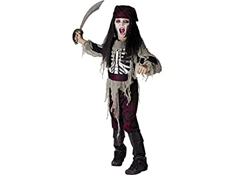 DISONIL Disfraz Pirata Fantasma Niño Talla M: Amazon.es: Juguetes ...