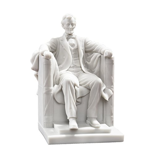 Design Toscano Abraham Lincoln Memorial Bonded Marble Resin Statue
