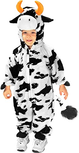 Forum Kids Plush Moo Cow Farm Animal Halloween Costume S Cow Farm Animal Costume