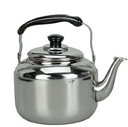Tetera de acero inoxidable 4L para agua caliente, diseño clásico ...