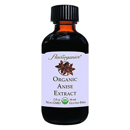 - Flavorganics Organic Anise Extract, 2 Ounce