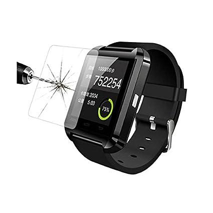 hongfei Protectores de pantalla de vidrio templado 9H para reloj inteligente U80, protector de película