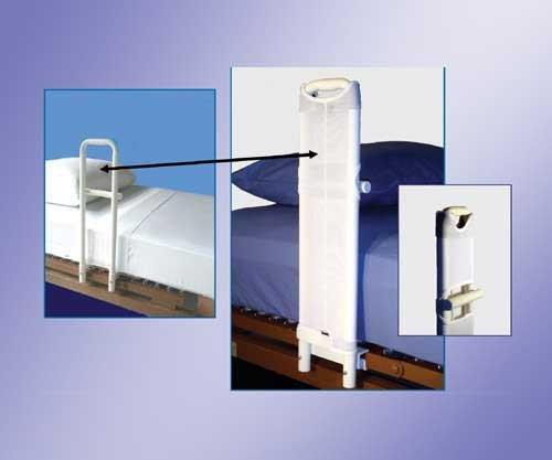 SPECIAL PACK OF 3-SafetySure Safeguard Cover for MTS Hosp. Style Bed Rails+ by Marble Medical