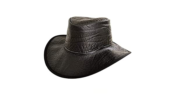 9514350f83ea4 Cañonero Africano Buffalo Piel Estampada Sombrero Fly Banda  Amazon.es  Ropa  y accesorios