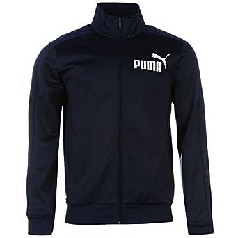 Puma Herren Sportjacke, Oberbekleidung, voller Reißverschluss, hoher Kragen, langärmlig, gerippte Bündchen langä rmlig gerippte Bü ndchen