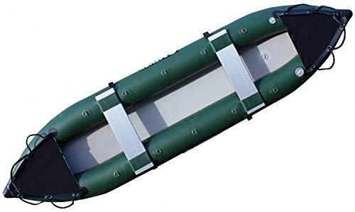 SATURN 13 Pro-Angler Fishing Inflatable Kayaks FK396. Great Inflatable Rubber Kayak for Fishing and Kayaking.