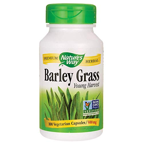 Nature's Way Barley Grass Young Harvest -- 100 -