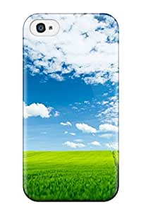 Hard Plastic Iphone 4/4s Case Back Cover,hot Summer Landscape Case At Perfect Diy
