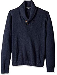 Men's Newport 7g Marled Shawl Sweater