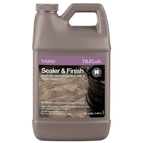 CUSTOM BLDG PRODUCTS TLMTSSHG 1/2-Gallon Matte Sealer/Finish (Tilelab Gloss Sealer And Finish compare prices)