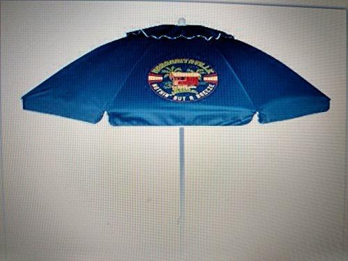 Margaritaville Beach Umbrella Blue w/ Carrying Case For Sale
