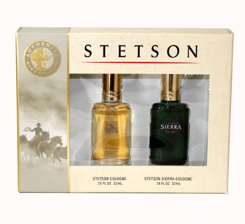 UPC 031655427201, Coty Stetson 2 Piece Gift Set for Men (Cologne and Sierra Cologne)