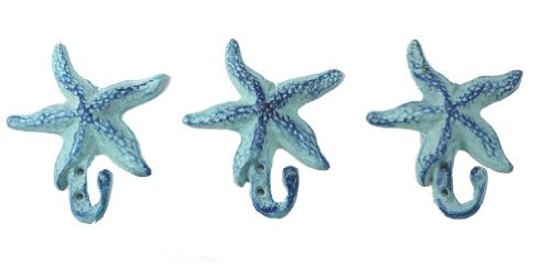STARFISH Wall Hook Cast Iron