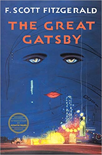 Image result for the great gatsby book over