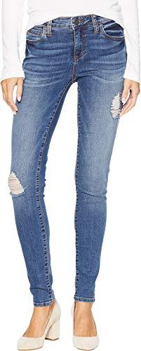 KUT from the Kloth Women's Mia Toothpick Skinny Jeans in Massive Massive/Medium Base Wash 4 31