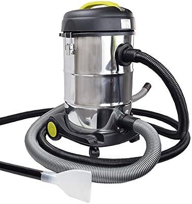 Syntrox Germany - Aspiradora de barro y barro, 2000 W, 30 litros, acero inoxidable: Amazon.es: Hogar