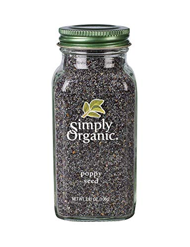 Simply Organic, Poppy Seed, 3.81 oz (108 g) (1 X 3.81 oz.)
