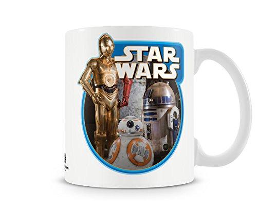 Officially Licensed Star Wars - Vintage Droids Coffee Mug