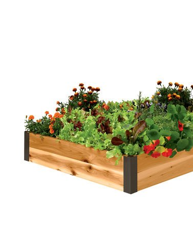 Raised Garden Bed 3' x 6' by Gardener's Supply Company