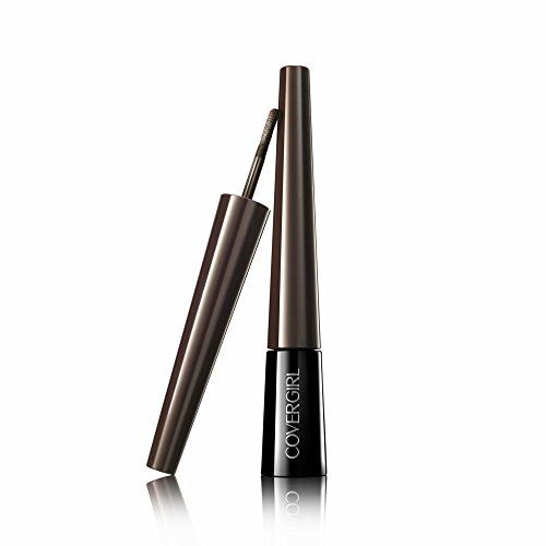 Brown Powder Eyeliner - COVERGIRL Bombshell POW-der Brow & Liner Eyebrow Powder Dark Brown 805.24 oz (packaging may vary)