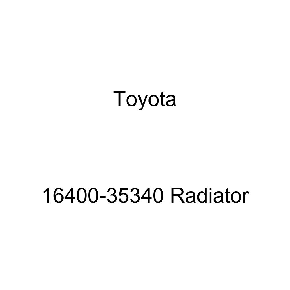 Toyota 16400-35340 Radiator