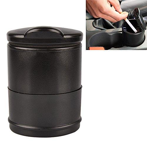 SHiZAK Portable Travel Car Auto Smokeless Cylinder Ashtray Cigarette Holder...